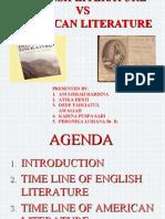 English Literature vs America