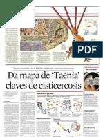 Da Mapa de Taenia Claves de Cisticercosis