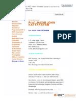Prof. Jacob John Kattakayam Resume