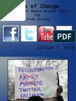 Jillian C. York - Tools of Change