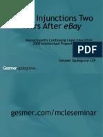 MCLE EBay Seminar (June 2008)