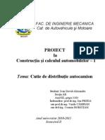2010 2011 Model Proiect CCA1