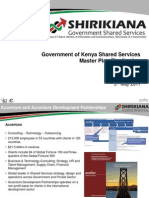 Shirikiana Shared Services Master Plan 2011