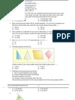 Soal UN & Pembahasan Matematika SMP