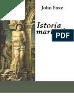 Istoria martirilor
