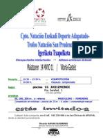 Cpto NATACIÓN-SAN PRUDENCIO2011-invitación