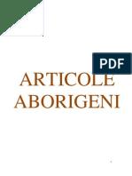 Aborigenii - portofoliu