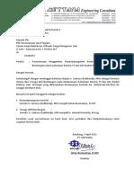 Surat an Penggantian TA Mettana