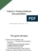 Documentation Testing