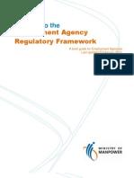 Guide for Employment Agencies on New Regulatory Framework 2011