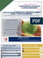 Congreso Internacional Oportunidades de Negocio en Países Emergentes