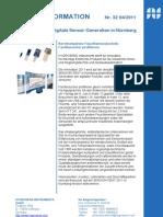 Die neue Generation der digitalen Feuchte- und Temperatursensoren auf der SENSOR+TEST 2011