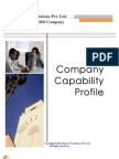 Company Capability Regius
