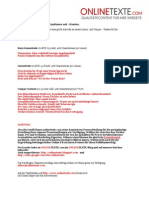 www.onlinetexte.com - Newsletter 2011-18
