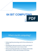 64 Bit Computing