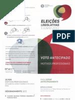 Eleições legislativas boletim informativo