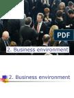 2 M Business Environtment ( Bus Tel Services)