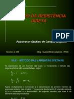 Metodo Resist en CIA Direta - PFF