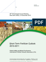 2010 Council Newdelhi Ifa Outlook