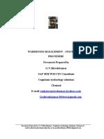 WM Stock Upload Procedure