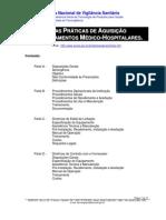 Manual de boas práticas de aquisição de equipamentos médicos