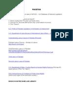 Pakistan [PDF Library]