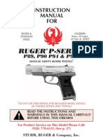 Ruger p89-p944 Manual Safety