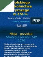 Misja i Cele SW XXI Jerzy THIEME