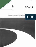Supplier Web Share Downloads CQI-15 Welding System Assessment