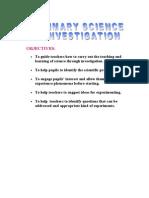 What is Scientific Investigation
