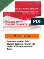 STAT LINGK- Slide VI - 2011- Analisis Data Stat Deskriptif 2