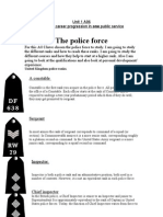 The Police Force Unit 1 A06