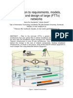 Introduction to Design of Large FTTx Networks PA5