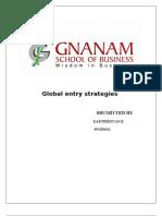 Global Entry Strategies