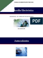 PDT 601 Planillas Electrónicas 06-12-07