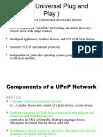 UPnP Universal Plug and Play