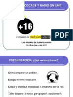 Taller de Podcast y Radio on Line