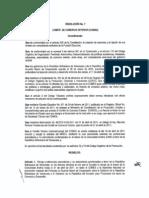 Resolución No.7 del (COMEX)