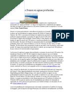 La incursión de Pemex en aguas profundas