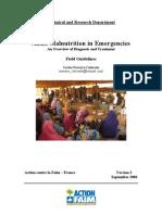 Adult Malnutrition in Emergencies