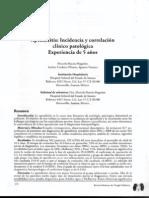 Articulo, Clinicas Medicas, Apendicitis