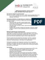 Media Literacy Dossier Deursen and Dijk 2009 SummarybyWang