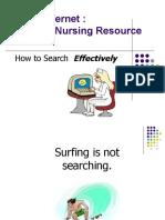 Lesson 3 a Internet as Nursing Resource