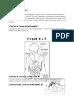 Qué es la Hepatitis
