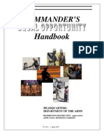 Commander's Equal Opportunity Handbook