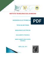 Las Partes Constitutivas Del Motor Elctrico