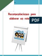 Recomendaciones Para Elaborar Rotafolio