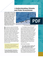 Climate Change in Polar Ecosystems, Report in Brief