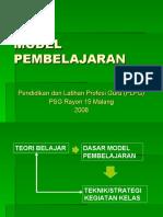 Slide - Model Pembelajaran