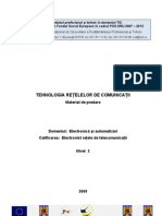 Tehnologia Retelelor de Comunicatii